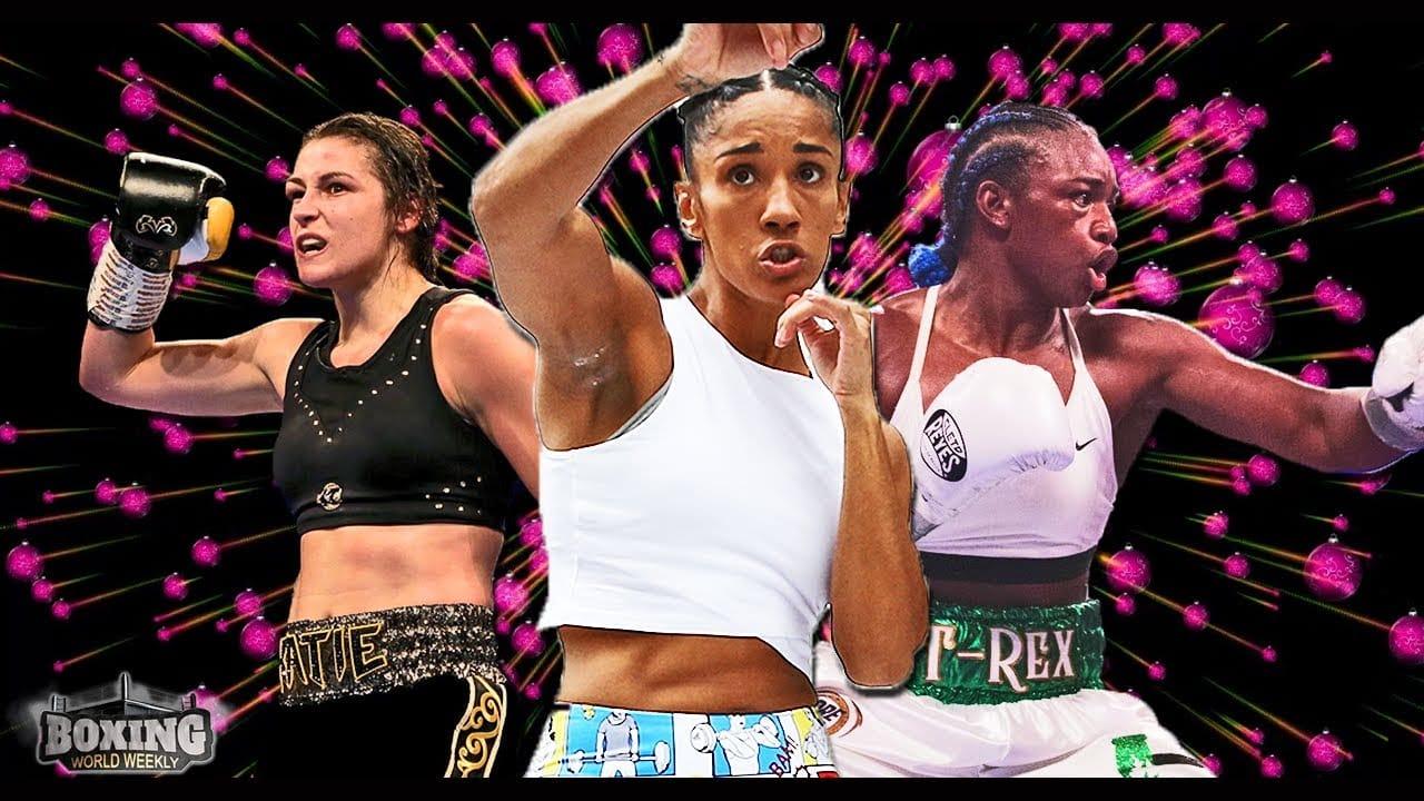 Female Boxing Taylor Vs Serrano