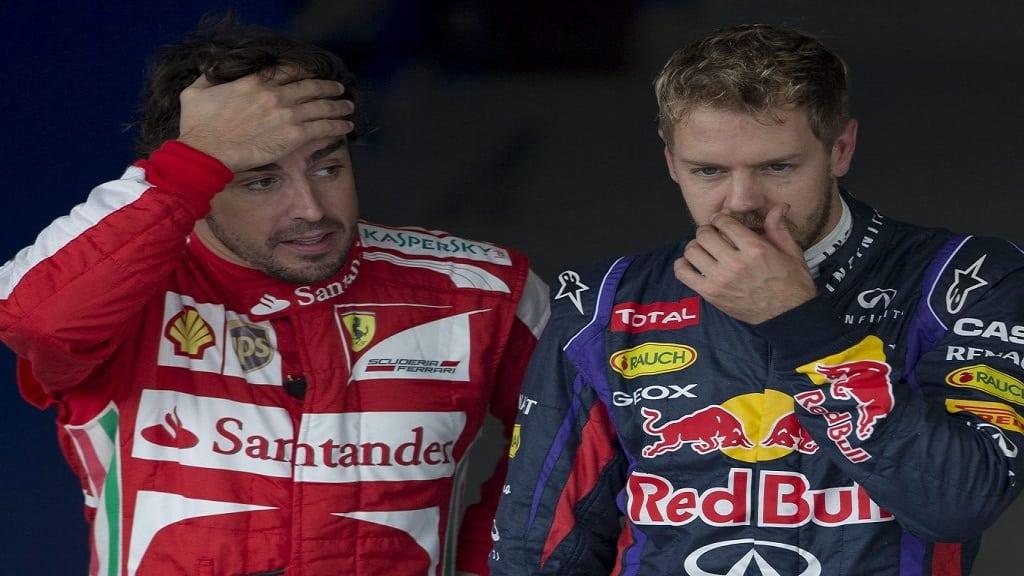Fernando Alonso Sebastian Vettelpa1