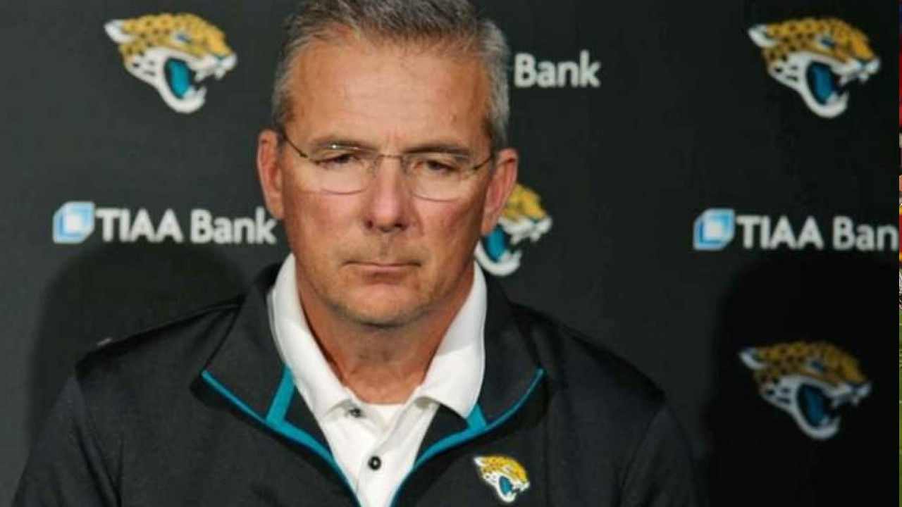 Former Ohio State Head Coach Urban Meyer Signs With The Jacksonville Jaguars