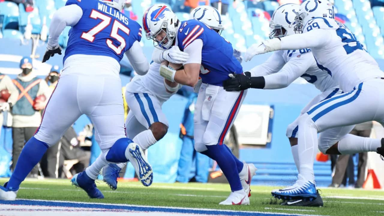 Josh Allen Adds A Rushing Touchdown Leading The Bills To Victory
