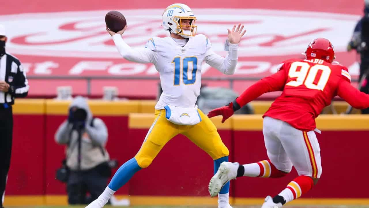 Justin Herbert Throws 3 Touchdown Passes In Win Over The Chiefs