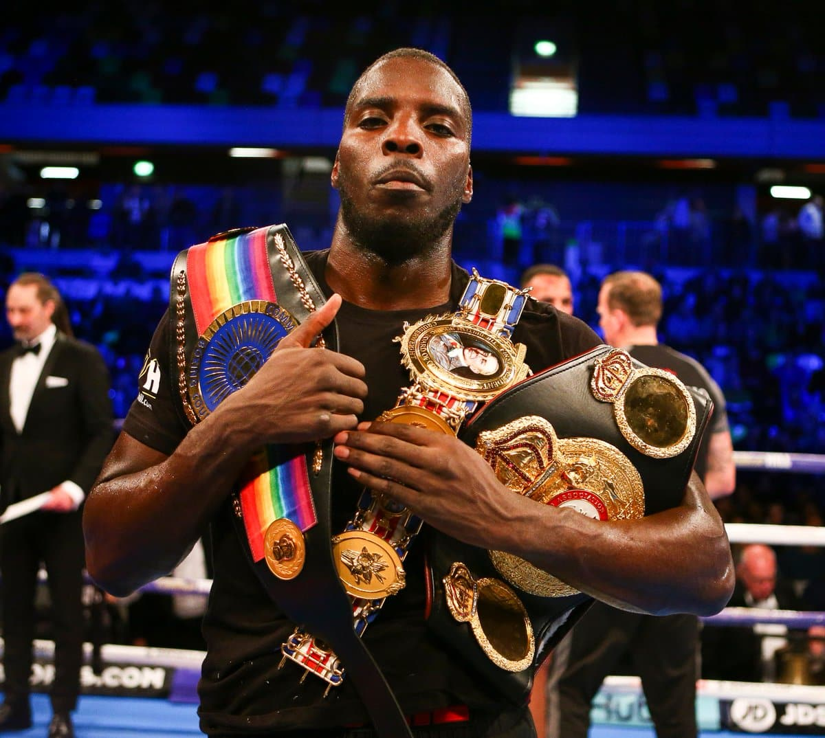 Lawrence Okolie Wins British And Commonwealth Cruiserwieght Titles Cleans Out Division Domestically