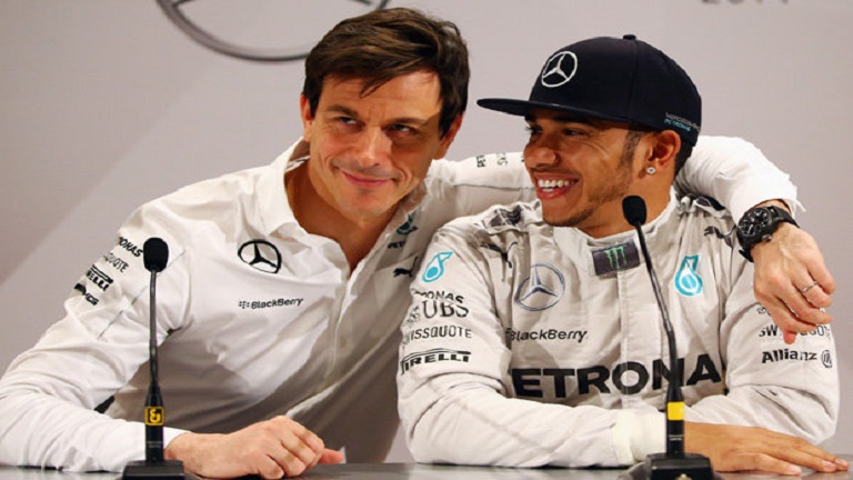 Lewis Hamilton Mercedes 623439