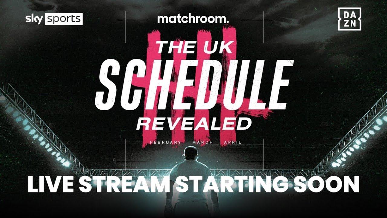 Matchroom Boxing Uk Schedule