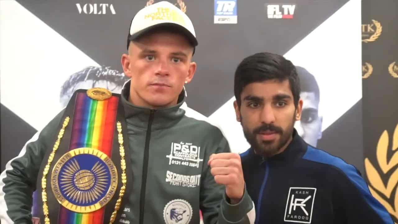 Mcgregor Beats Kash Farooq Via Split Decision