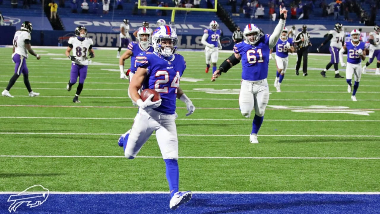 Taron Johnson With A Pick Six To Secure The Win For Buffalo