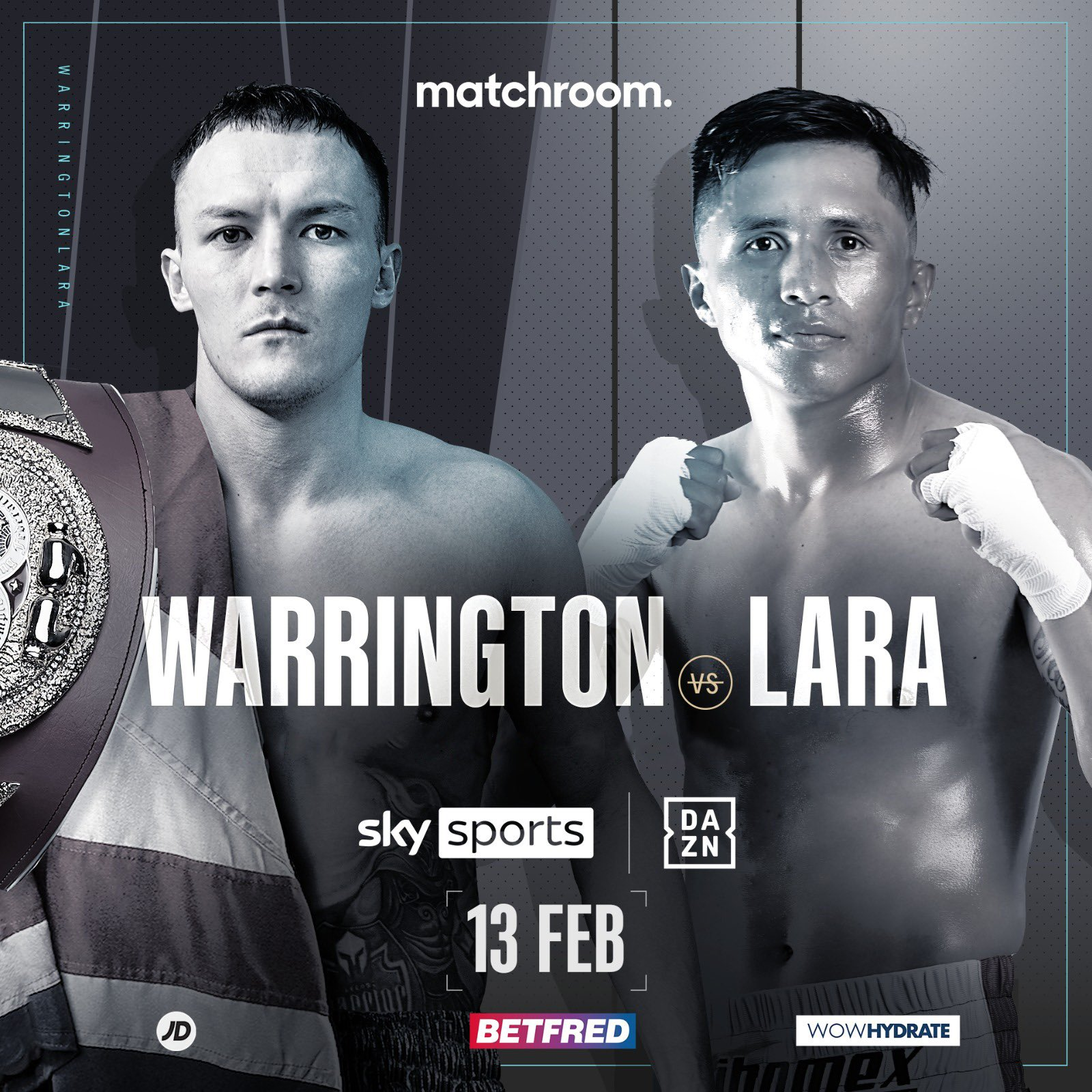 Warrington Vs Lara