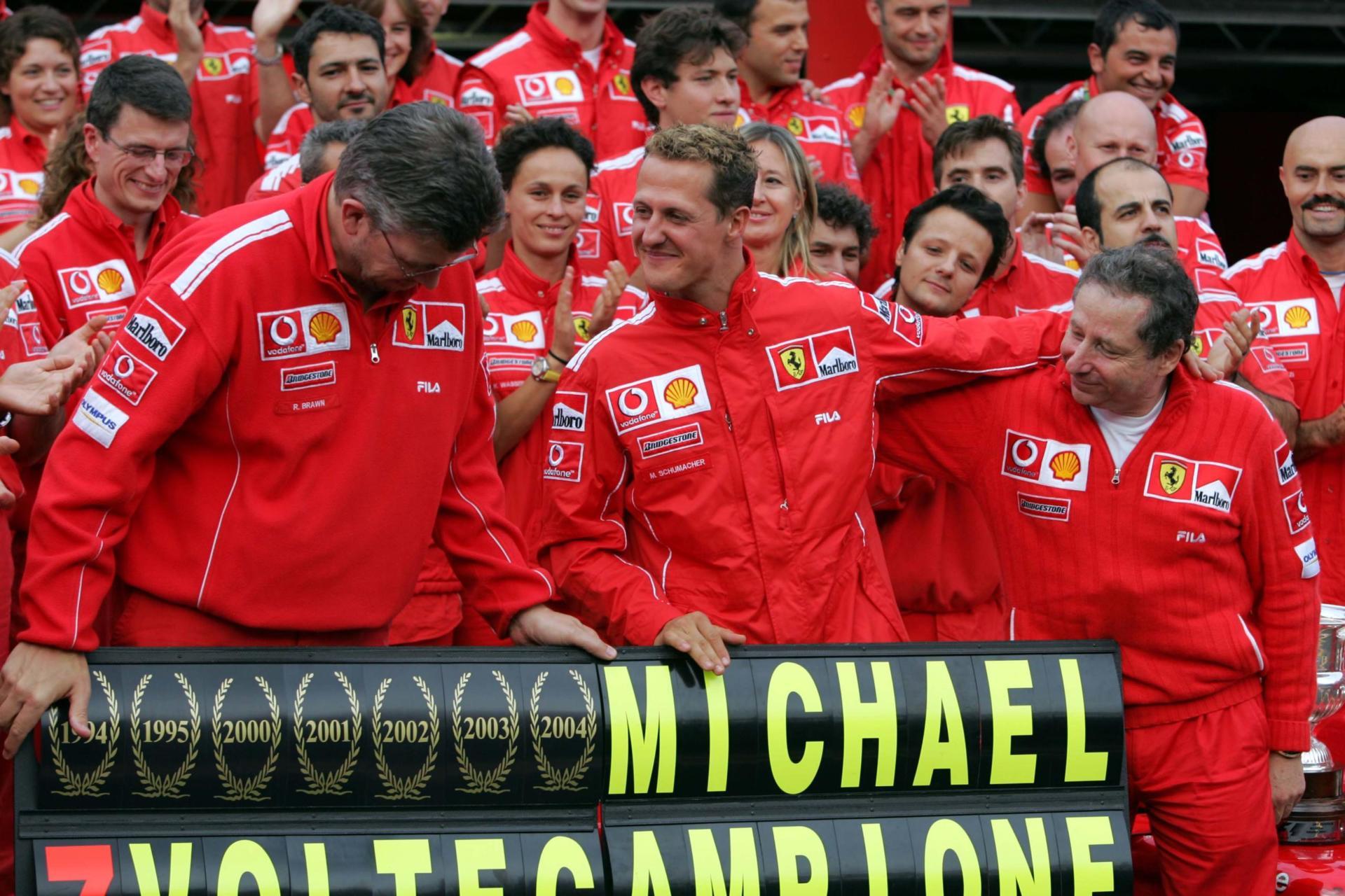 Michael Schumacher Left Ferrari In 2006 After The Team Opted To Sign Kimi Raikkonen