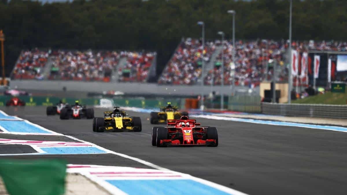 Paul Ricard'S Layout Is Yet Produce Something That Catches The Eye