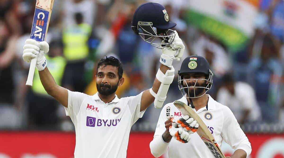 Rahane Led From The Front And Scored A Ton To Give India The Edge