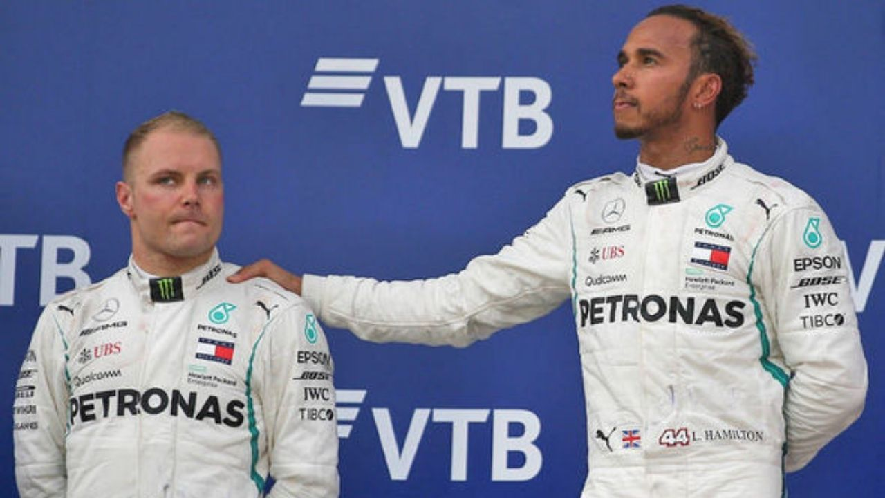 With Hamilton Only Signing A 1-Year Contract, Bottas Might Be On His Way Out Of Mercedes