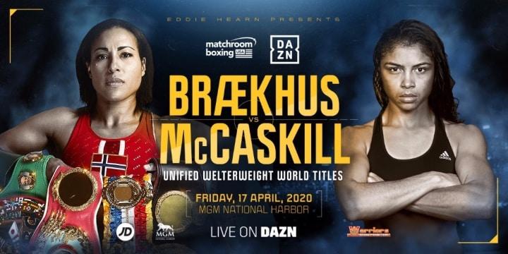 Braekhus Mccaskill Headlined On Dazn.