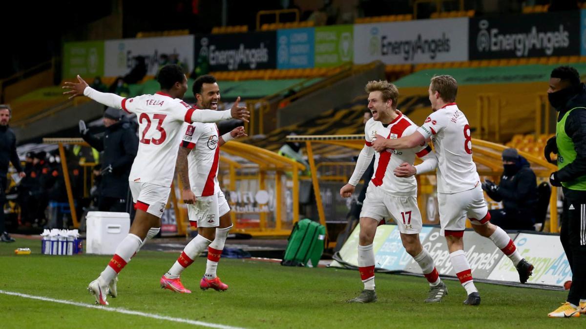 Saints And Chelsea Complete Emirates Fa Cup Quarter Final Line Up
