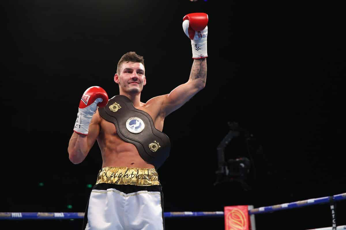 Former Commonwealth Wbo European And Midlands Area Champion Leigh Wood
