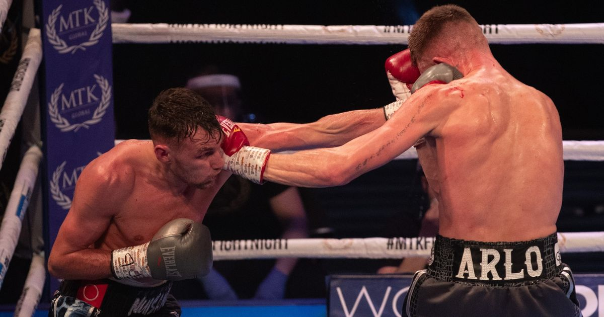 Gwynne Stuns McComb with Seventh Round TKO