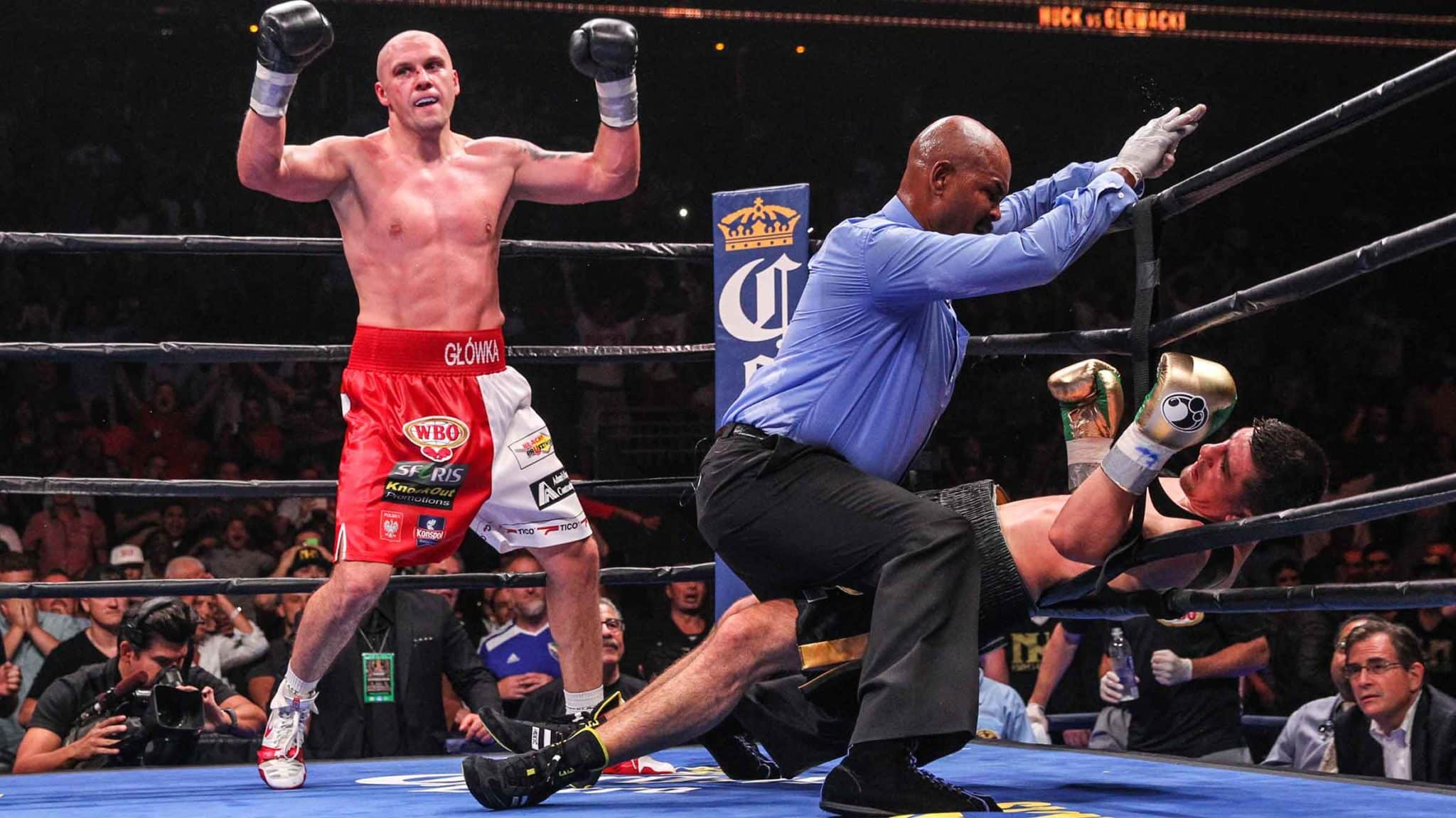 Krzysztof Glowacki Knocks Out Marco Huck In Fight Of The Year Candidate In An Massive Upset.
