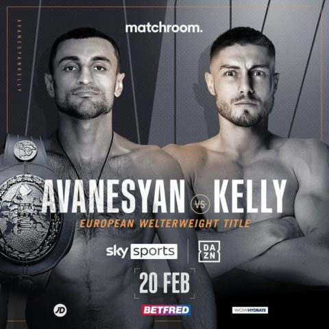Kelly Vs Avanesyan: Josh Kelly To Challenge For European Welterweight Title