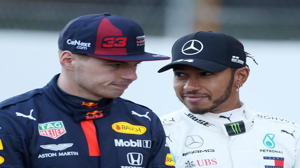 Max Verstappen And Lewis Hamilton 2020 Pa