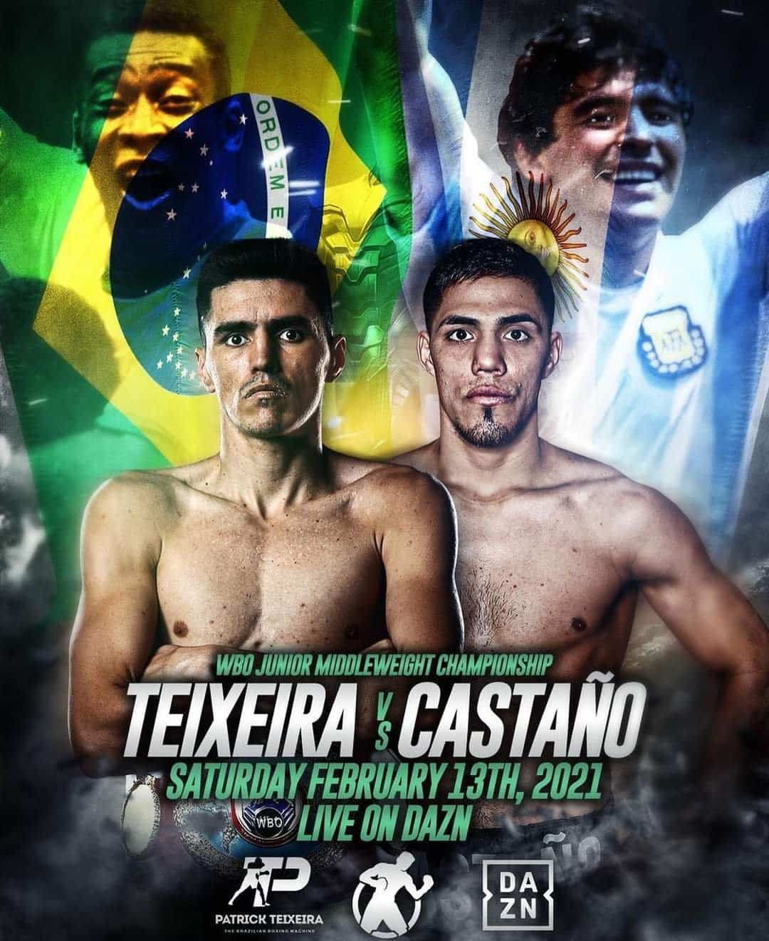 Teixeira Vs Castano Co Main Event On Diaz Vs Rakhimov World Title Double Header