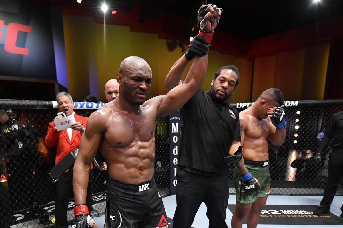 usman UFC 258