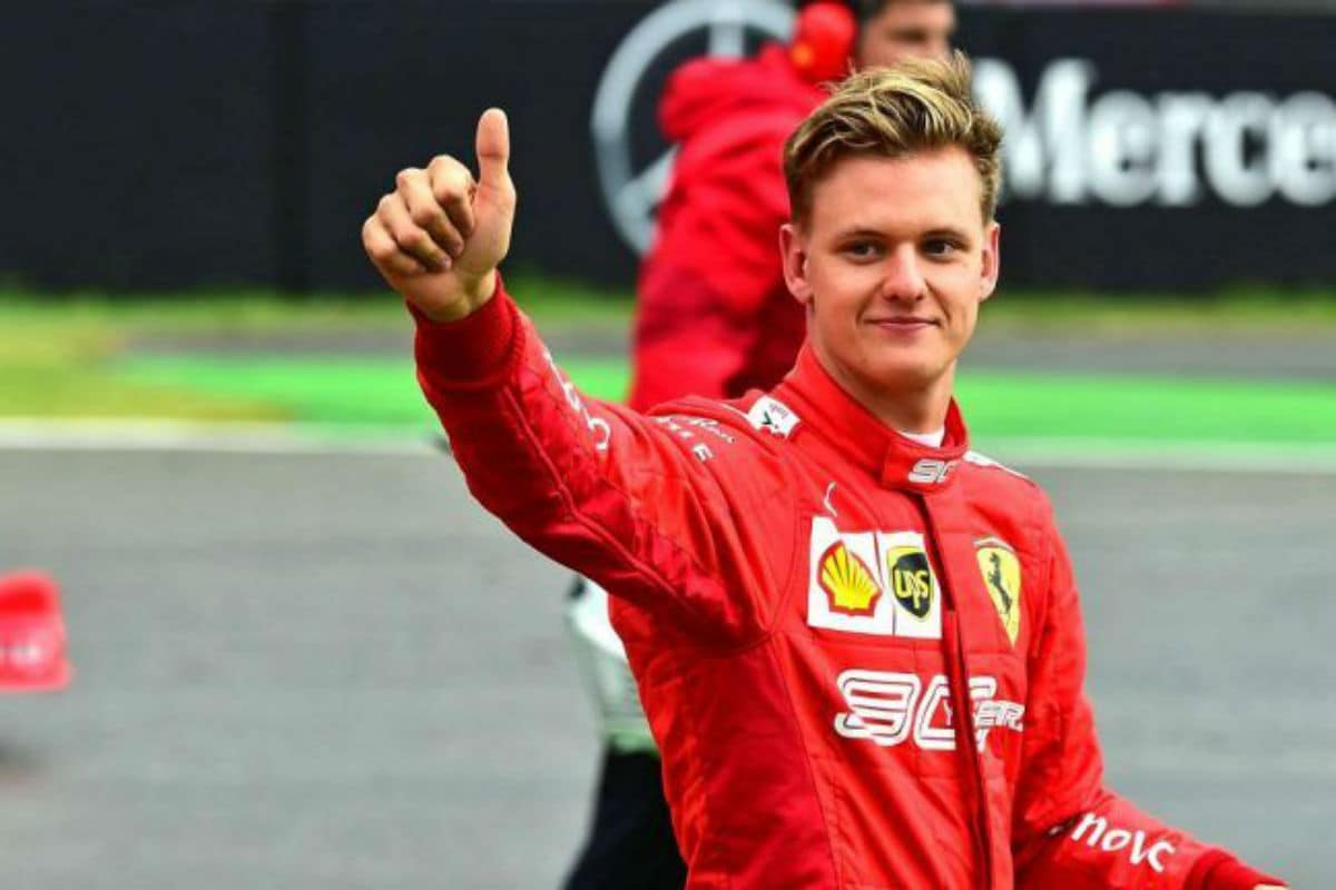 Mick Schumacher Is A Potent Threat To Carlos Sainz' Seat At Ferrari