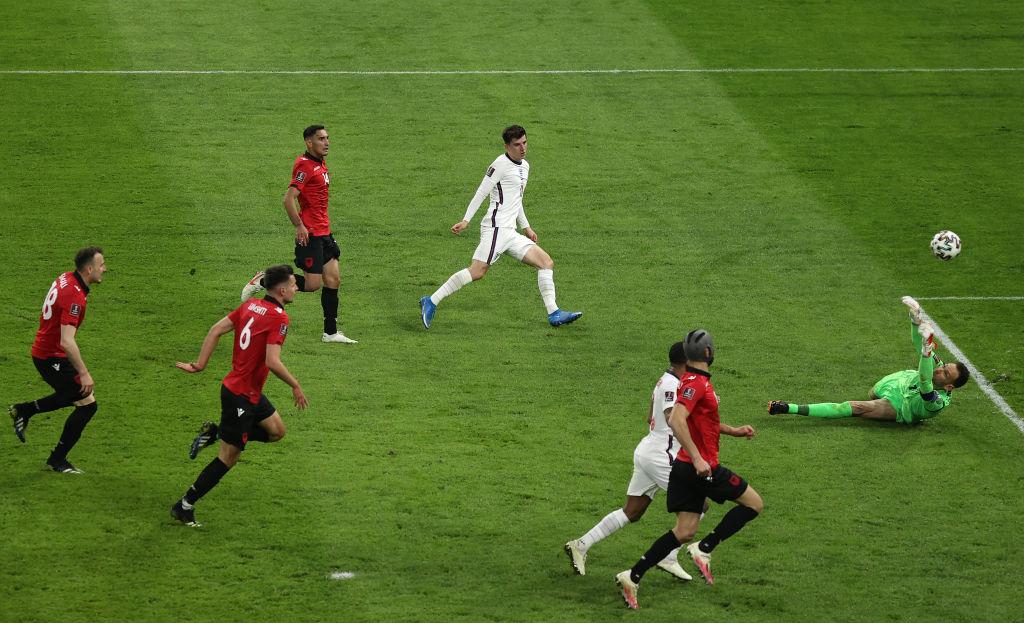 England See Off Albania