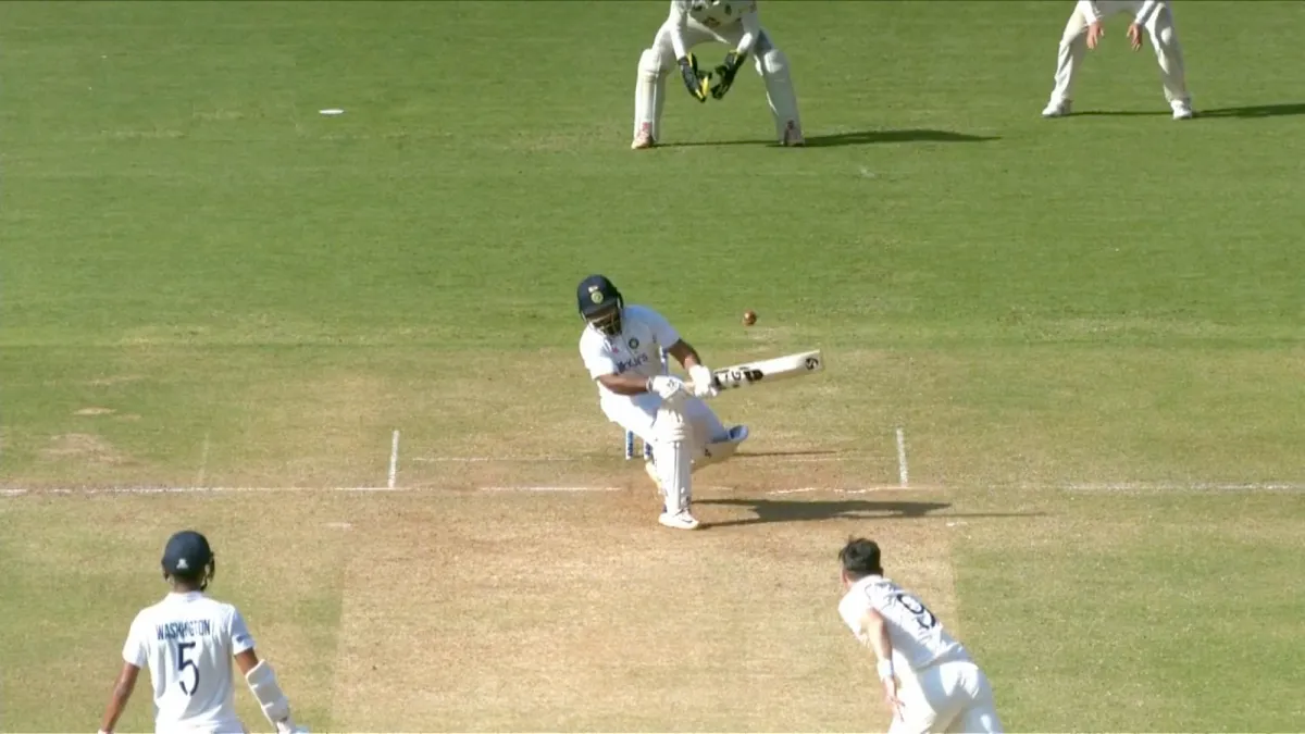Outrageous Yet Efficient Is How Rishabh Pant Would Be Definedrishabh Pant Reverse Sweep James Anderson