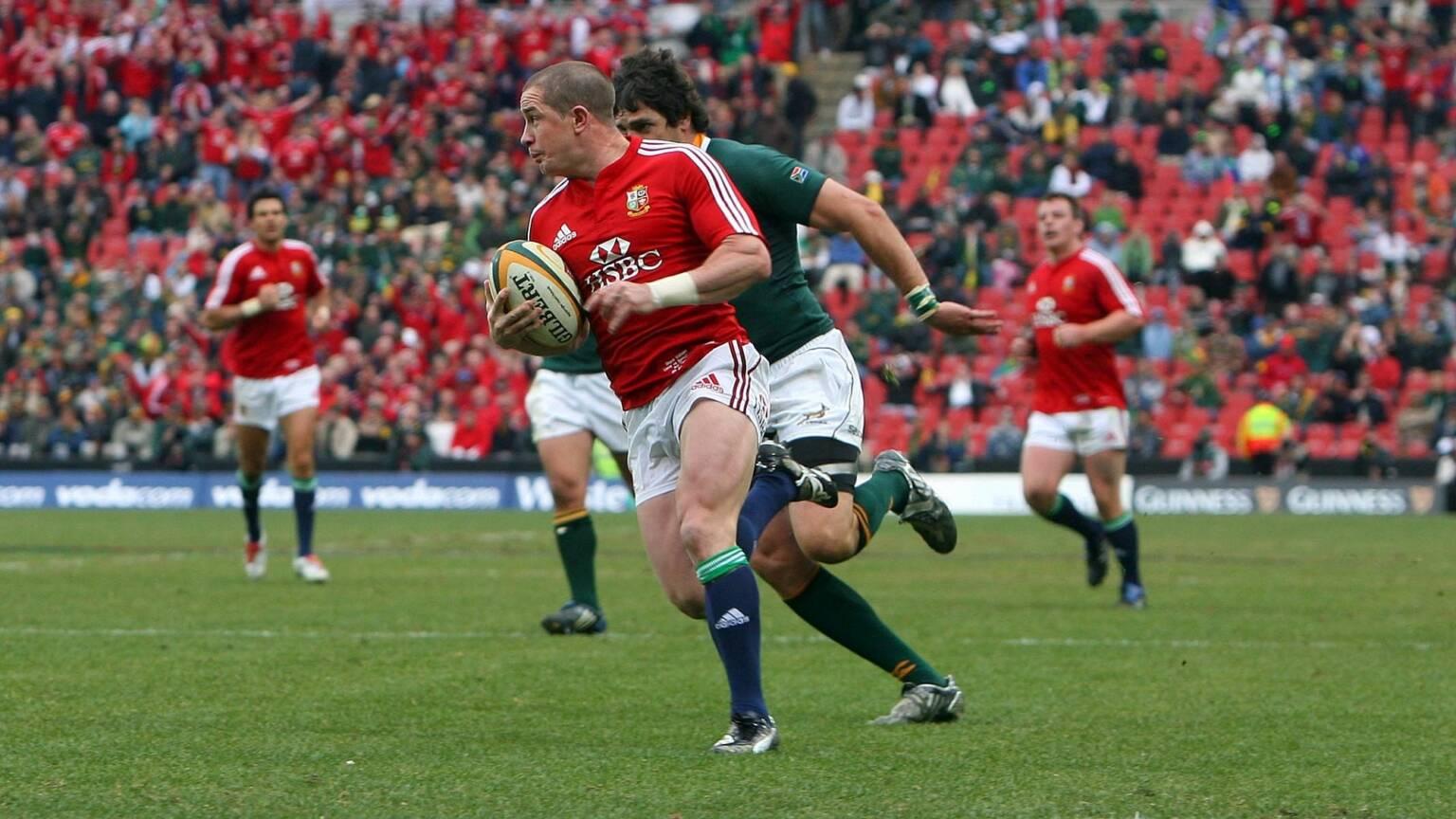 Shane Williams Playing For British And Irish Lions Tour 2009