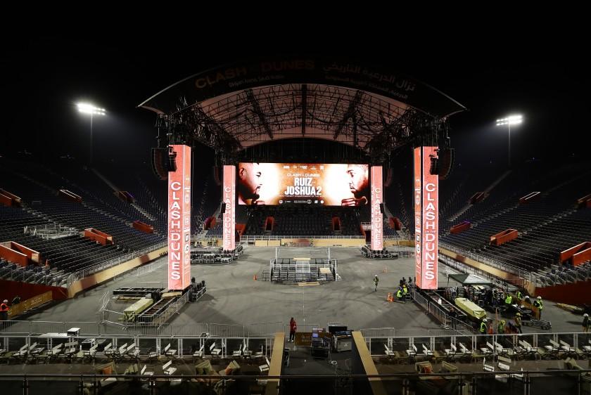 Stadium Specially Built In Saudia Arabia For Joshau Ruiz 2