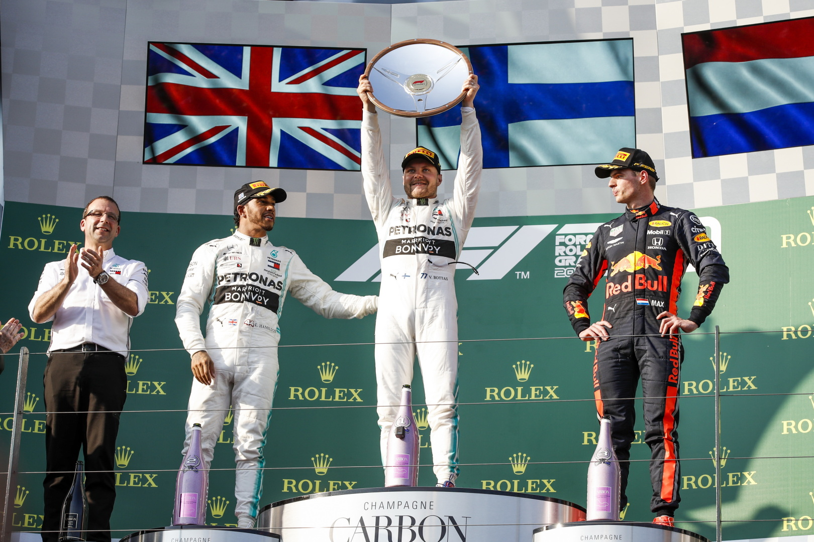 Mercedes Would Win The First Race Of The Season In 2019 After Struggling In Pre-Season Testsaustralia 2019 Podium