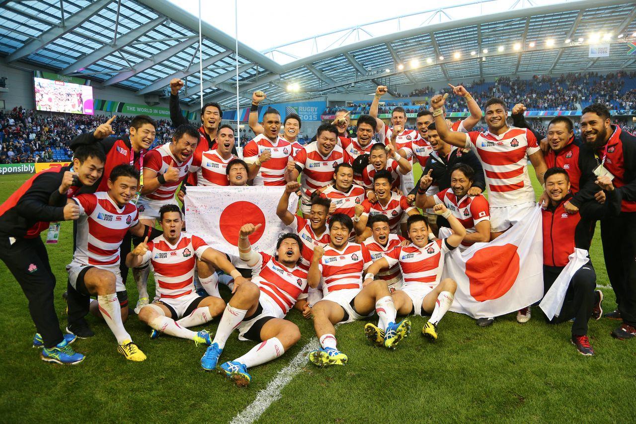 Japan Defeats South Africa