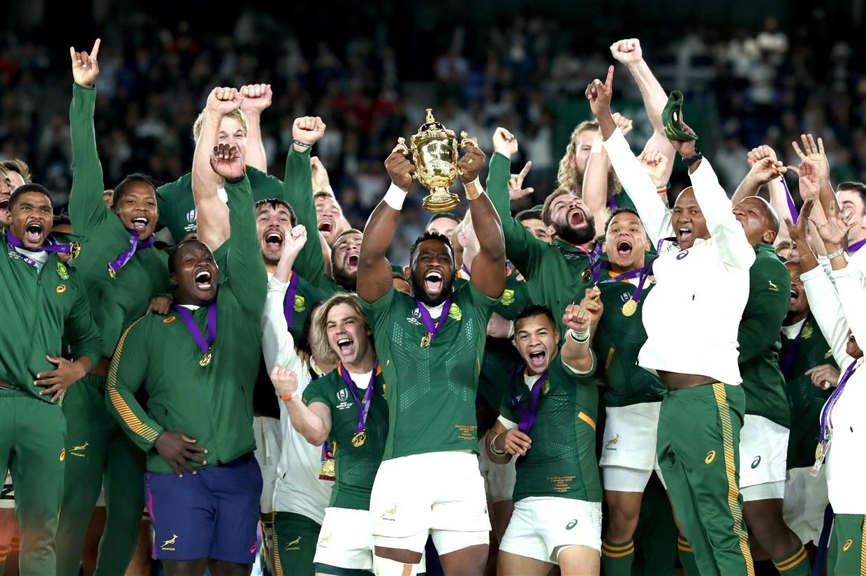 Springboks Three Times World Champions