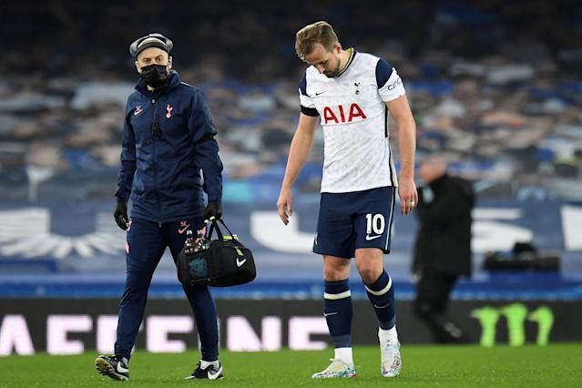 Spurs Forward Limps Off After Richarlison Lands Awkwardly Into Him.