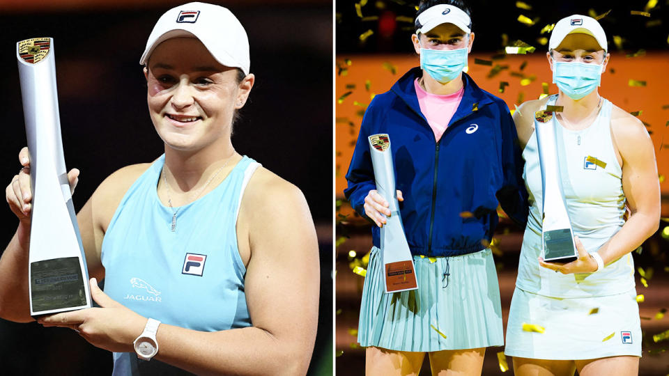 Ash Barty Wins Stuttgart Double