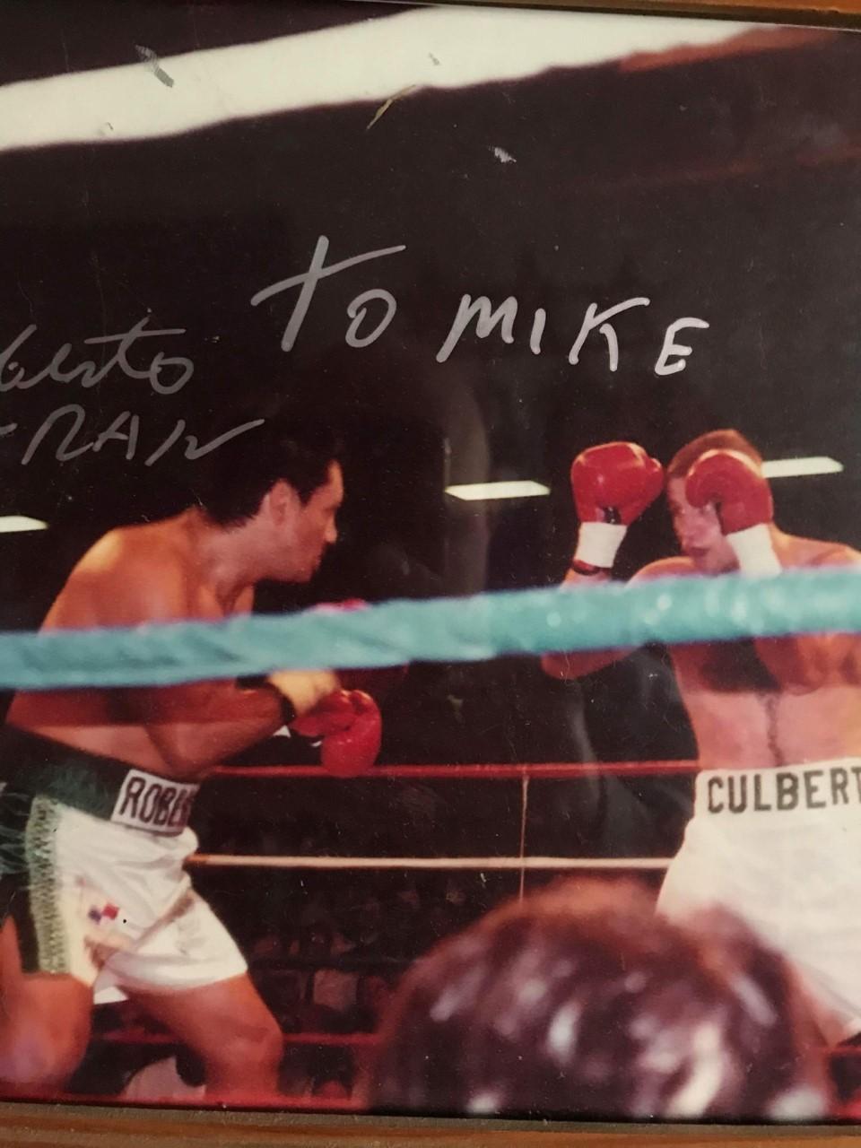 Michael Culbert Vs Roberto Duran