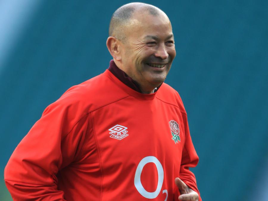Eddie Jones Smiling