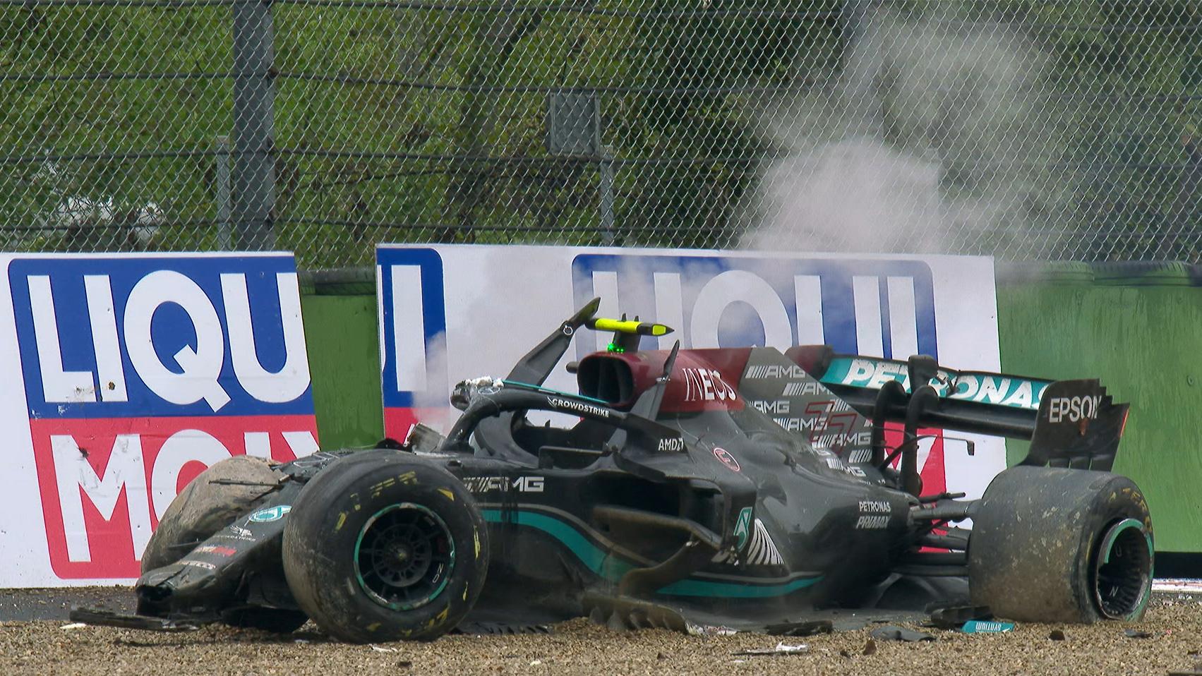 Bottas Had A Horrible Imola Grand Prix