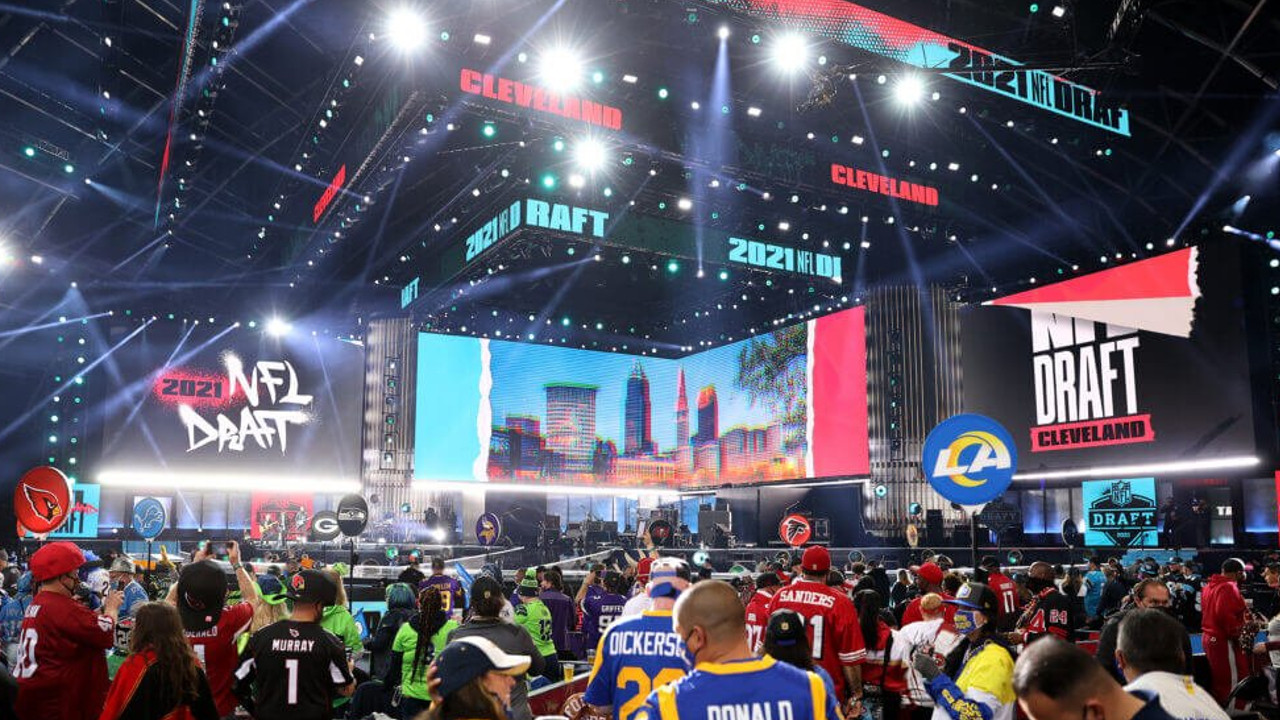 First Round of the 2021 NFL Draft Kicks Off in Cleveland