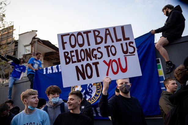 Football Belongs To Us Banner