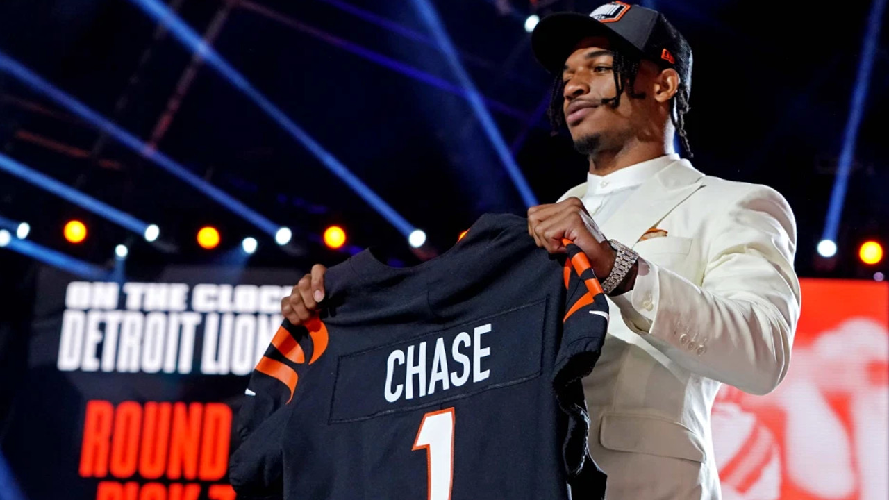 Jamarr Chase Was Selected Fifth Overall By Bengals
