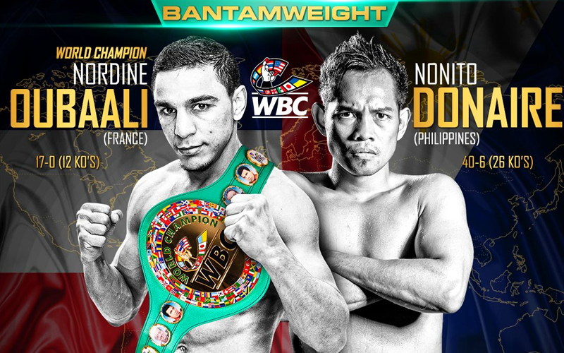 Oubaali Donaire Showtime Boxing