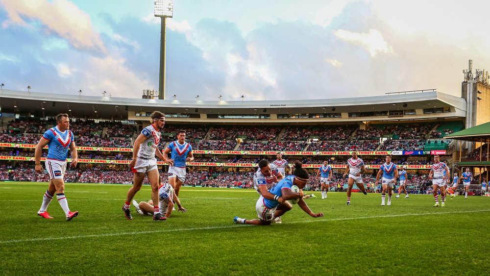 Roosters v Dragons Anzac Day NRL 2021