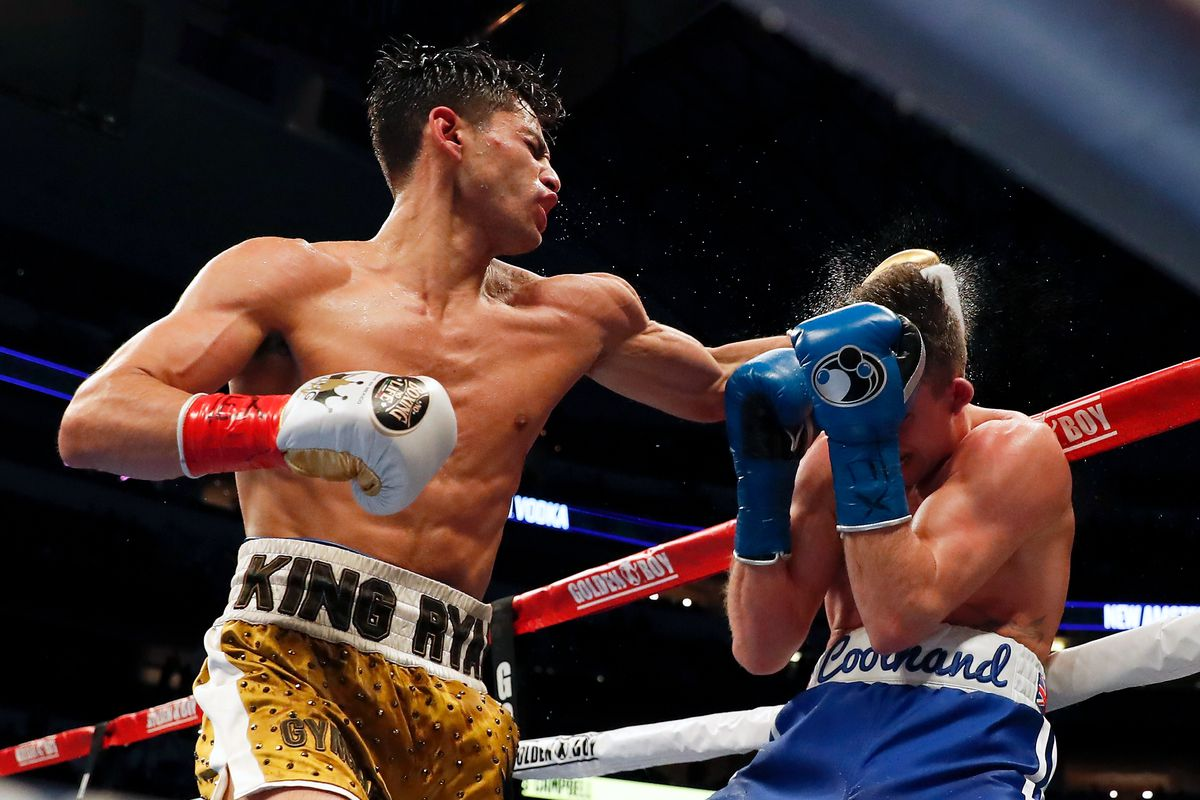 Ryan Garcia Comes Off The Floor To Brutally Knock Out Luke Campbell