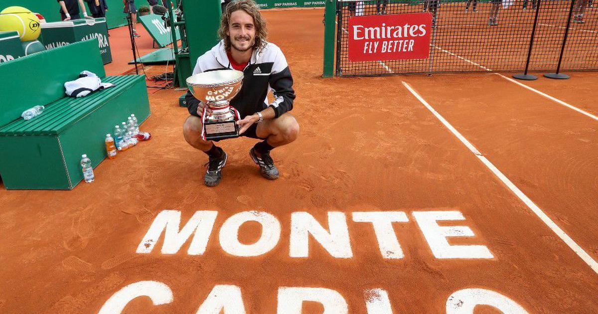 Stefanos Tsitsipas Monte Carlo Masters Champion