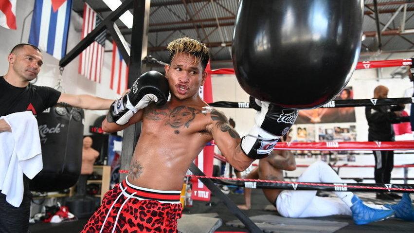 Wbo Champion John Riel Casemiro