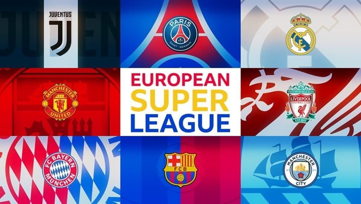 European Super League All Set To Be Anounced In Next 24 Hours