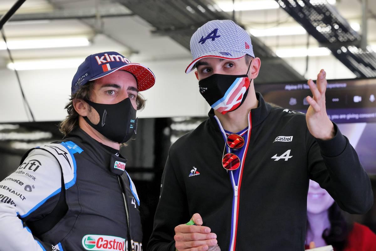 Ocon Dominated Alonso At The Imola Grand Prix