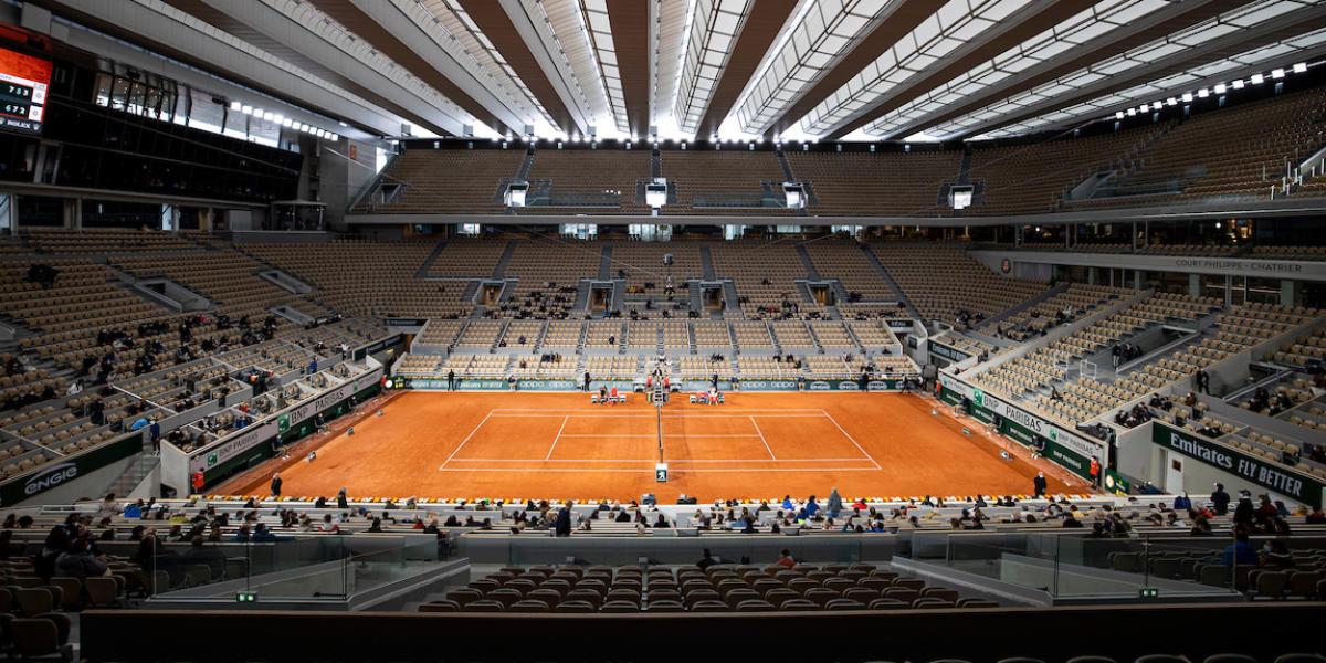 French Open Tournament Logo