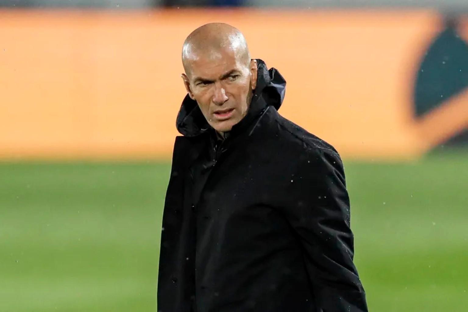 Zinedine Zidane leaves real madrid again