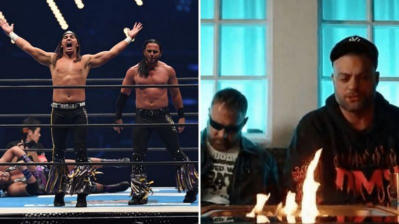 Young Bucks vs. Mox and Kingston